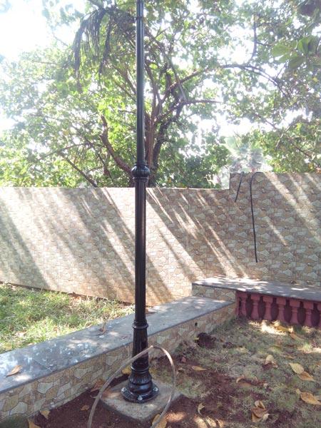 Cast Iron Garden Poles