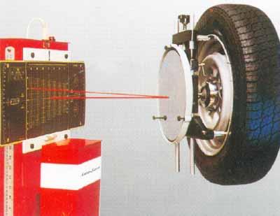 Laser Wheel Alignment System (Model LA-3D)