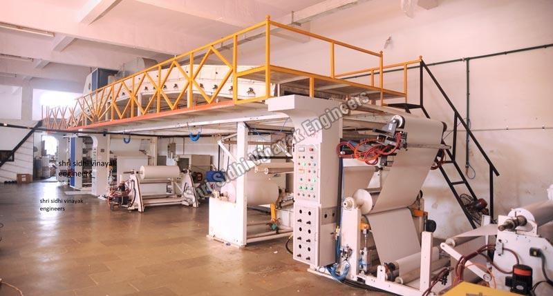 Silicone Coating and Laminating Machine