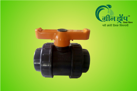 DU PVC BV 3.0 Plain Union Standard Ball Valve