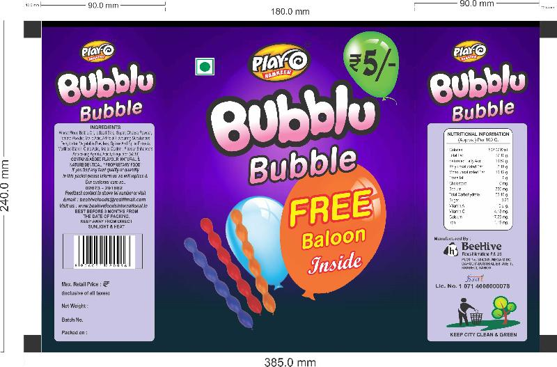 Play-O Bubblu Bubble Namkeen