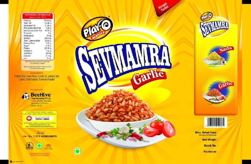 Play-O Sevmamra Garlic Namkeen