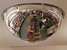 Over Head Convex Dome Mirror