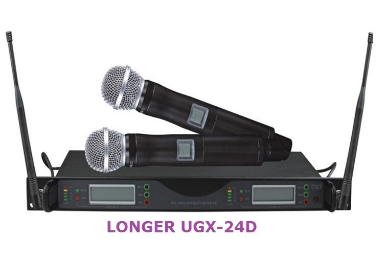 LONGER UGX-24D Wireless Microphone