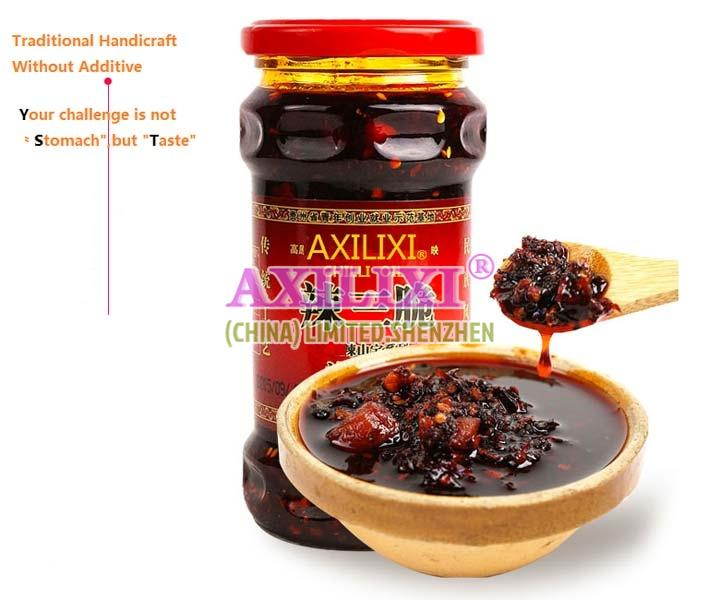 AXILIXI  CHILLI OIL SAUCE