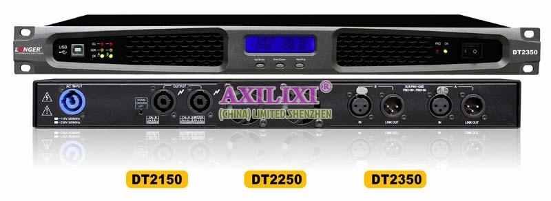 LONGER AUDIOS 2x150 Watts Digital Power Sound Amplifiers DT2150