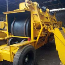 Mini Mobile Hot Mix Plant with Double Drum