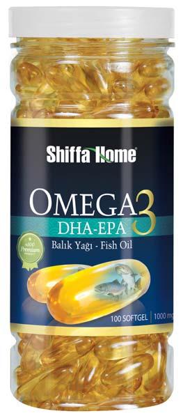 Omega DHA-EPA Fish Oil Softgel Capsules