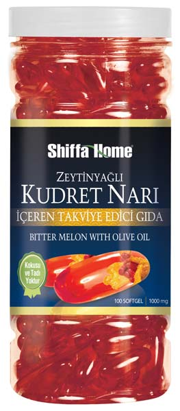 Bitter Melon Olive Oil Capsules