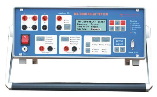 Single Phase Relay Test Set (MT 2000)