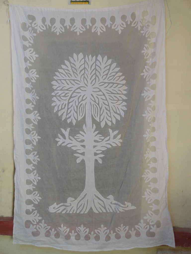 Applique Curtain