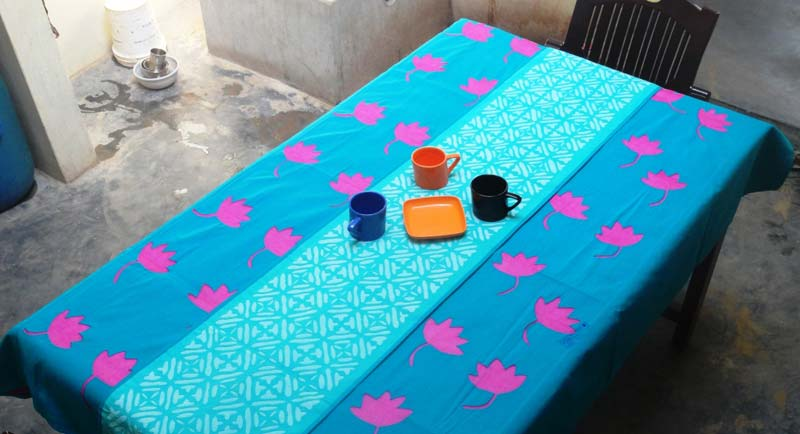 Applique Table Cloth