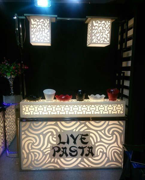 Acrylic Pasta Counter