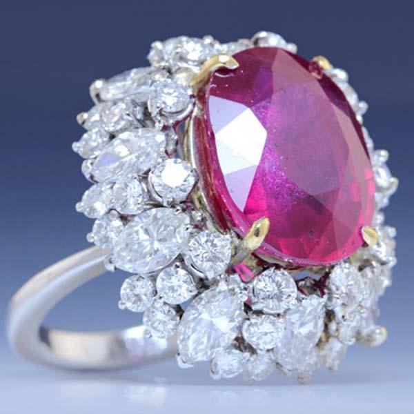 Diamond Cocktail Ring (CWDCGR0002)