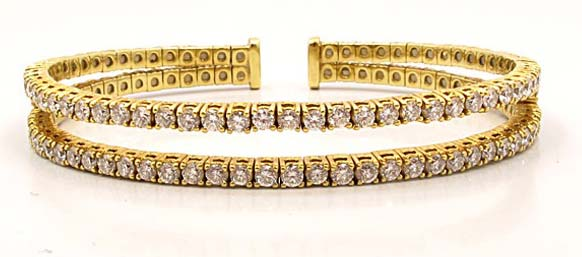 Diamond Cuff Bracelet (CWDCB234)