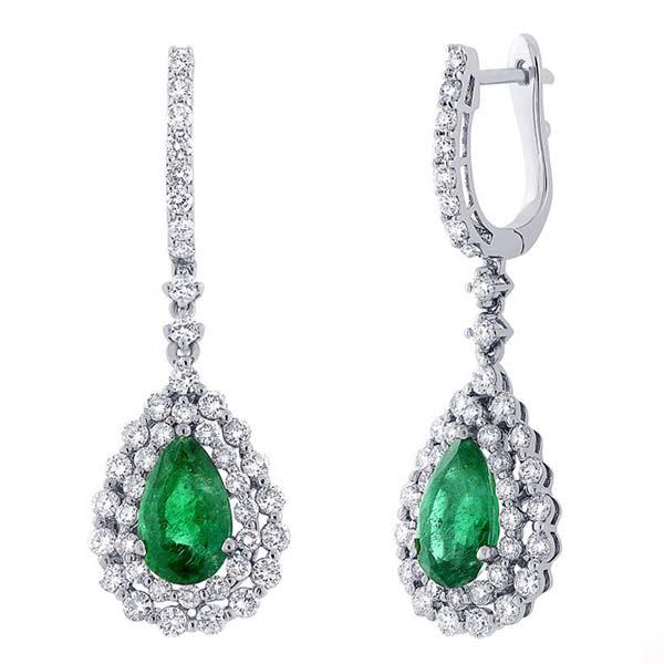 Diamond Dangle Earring (CWDDE205)