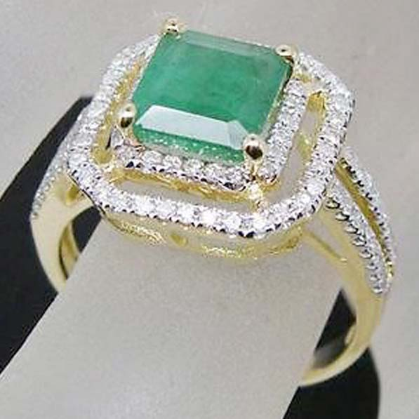 Diamond Gemstone Ring (CWGMGR002)