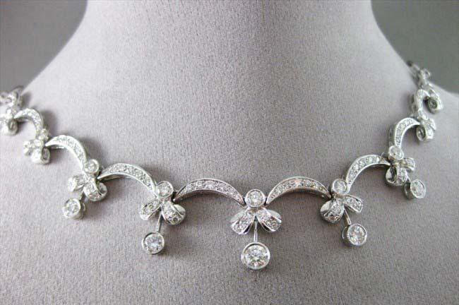 Diamond Gold Necklace (CWDGN001)