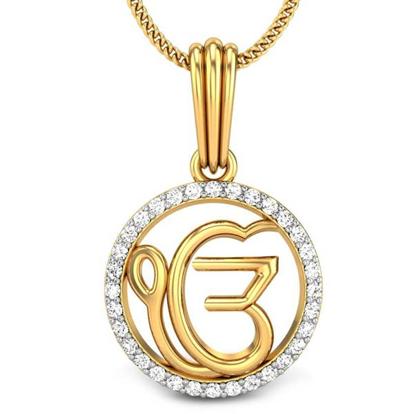 Diamond Religious Pendant (CWDRP229)