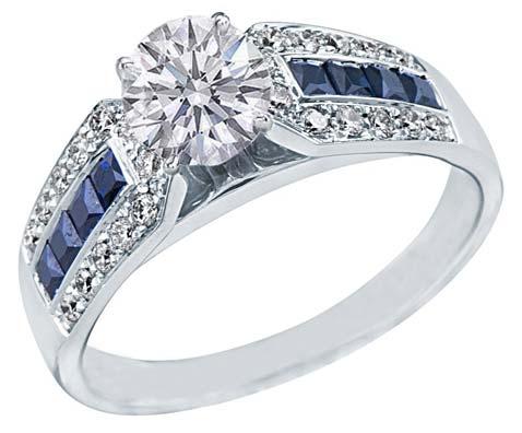 Diamond Solitaire Ring (CWDSGR0002)