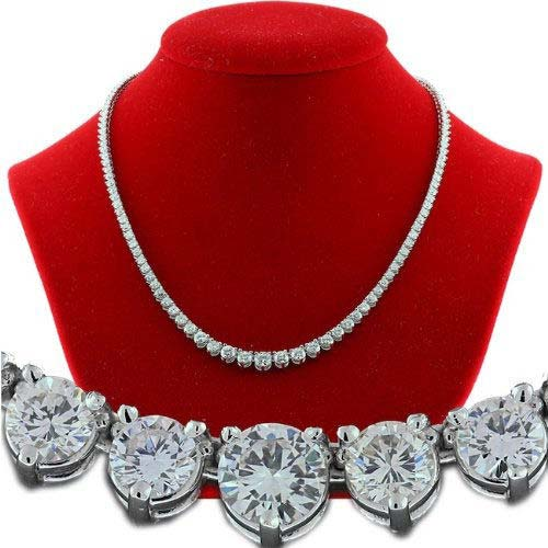 Diamond Solitaire String Necklace (CWDBGR002)