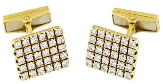 Mens Diamond Cufflink (CWDGCL002)