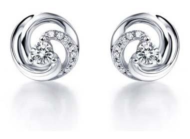 Silver CZ Earring (CWCZE265)
