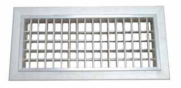 Adjustable Double Louvered Grill