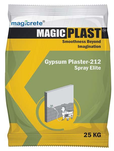 Spray Elite Gypsum Plaster