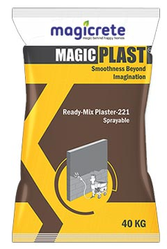 Ready Mix Plaster - 221 Sprayable