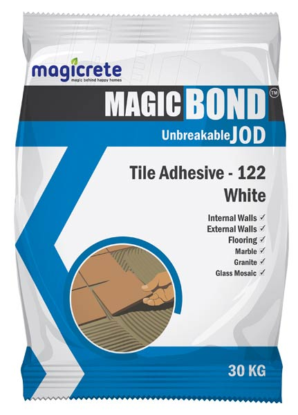 White Tile Adhesive