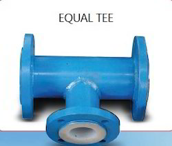 PTFE Lined Equal Tee 01