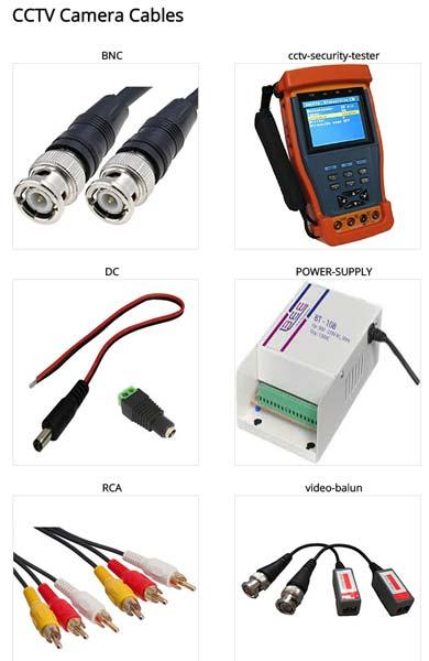 CCTV Camera Accessories