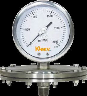 Stainless Steel Diaphragm Gauge