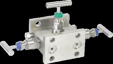 Three Manifold Valve