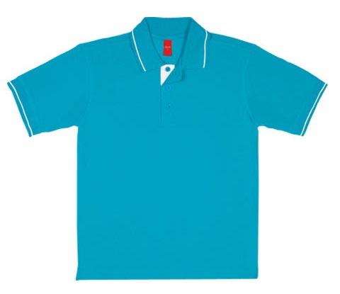 Mens Plain Polo T-Shirt 01