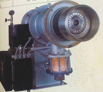 IAEC Gas Burner