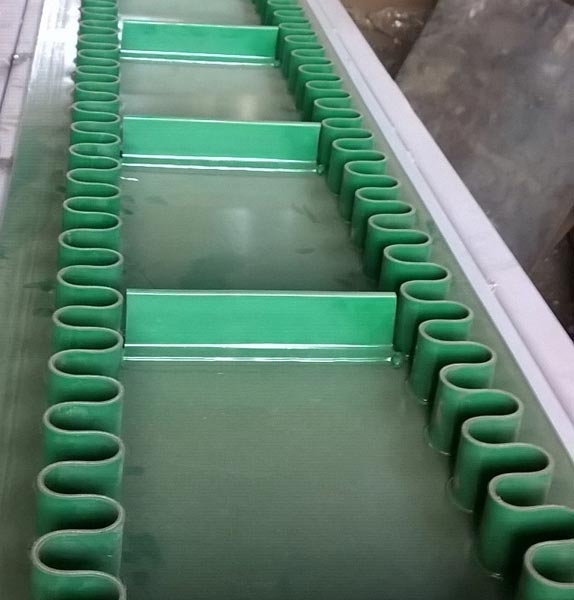 Cleated PVC Conveyor Belts
