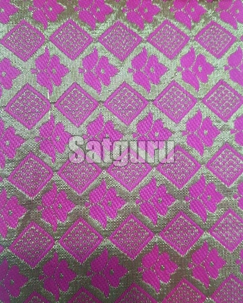 Baaghi Silk Jacquard Fabric 02
