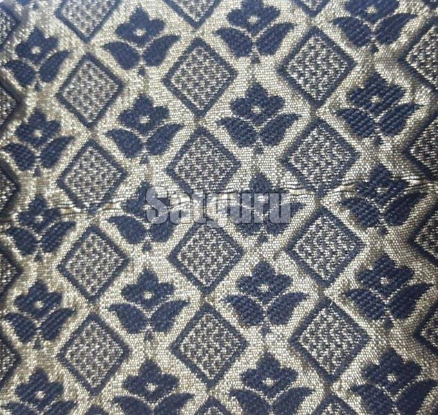 Baaghi Silk Jacquard Fabric 04
