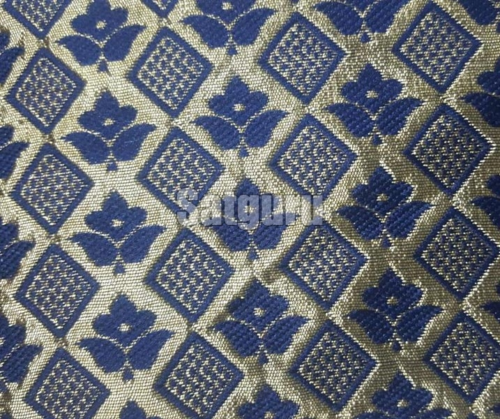 Baaghi Silk Jacquard Fabric 05