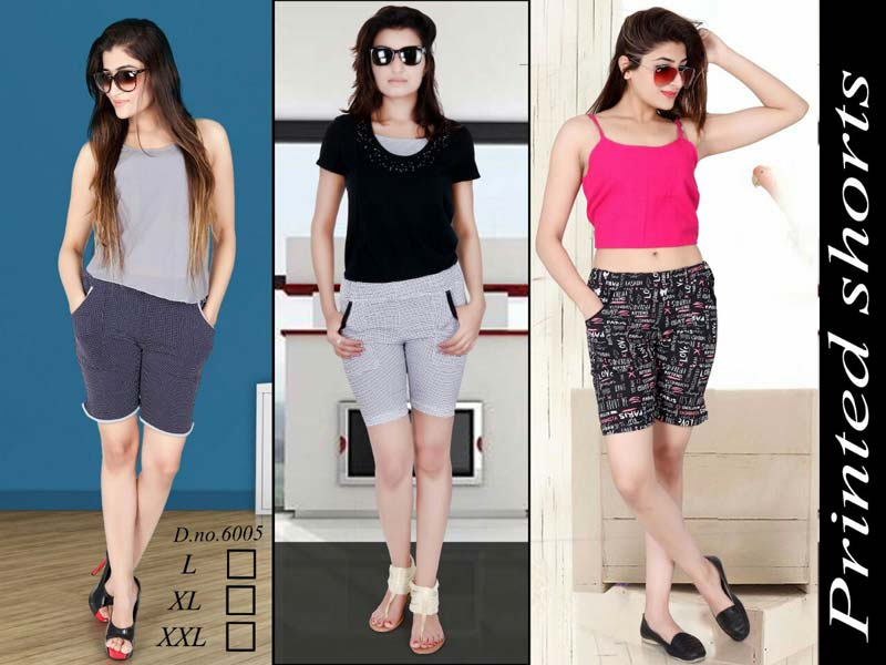 Ladies Nightwear Shorts