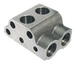 Hydraulic Pump Valve Chamber Body