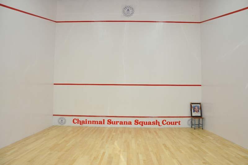 Squash Court Hard Plaster System