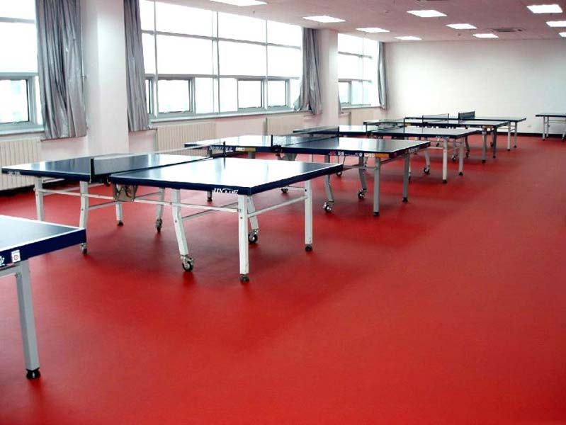 Wooden Table Tennis Court Flooring