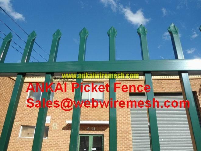 Spear Top Security Fencing Panel