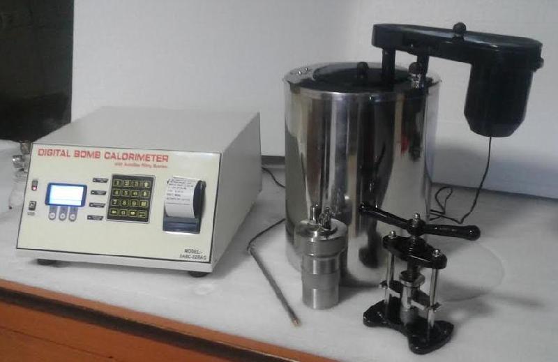 Automatic Bomb Calorimeter