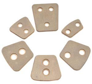 Ceramic Clutch Buttons