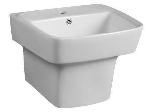 Wall Hung Pedestal Wash Basins