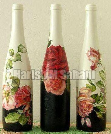 Art Painted Bottles
